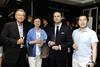 Seetho Kai Yin, Saleha Johari, Gaetan Guillosson and Ng Tzee Penn