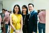 Dawn Ng, Jade Teo and Kelvin Teo