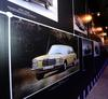 The gallery featured the history of the E-Class