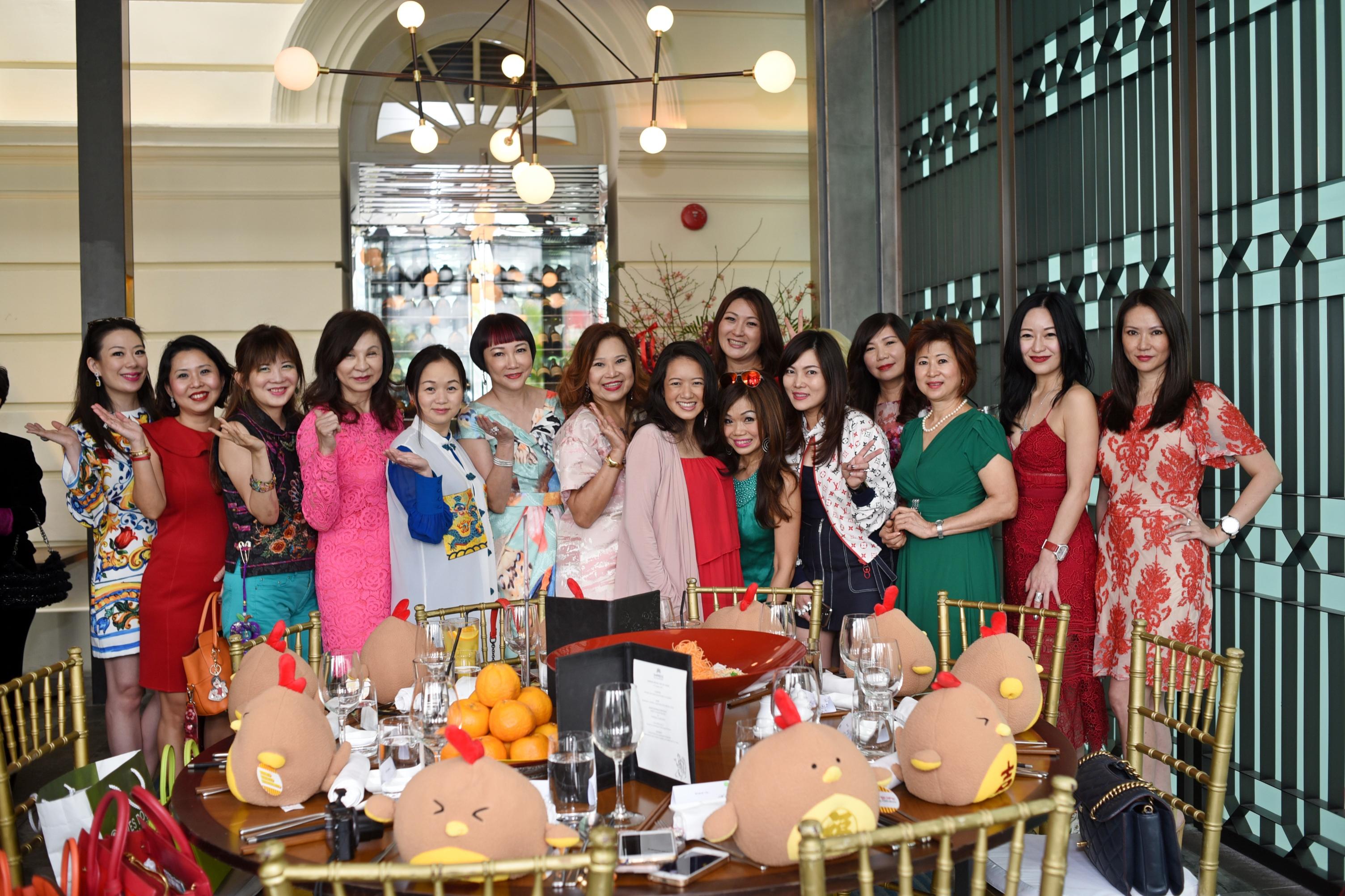 Nana Au-Chua's Chinese New Year lunch
