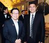 Mah Bow Tan and Desmond Khusnin