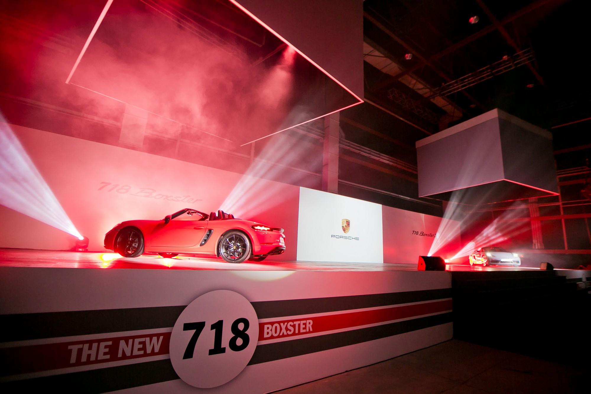 Porsche launches the 718 Boxster