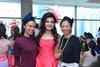 Lynn De Vito, Roshan Valiram and Dawn Teo