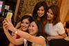 Vihari Sheth takes a we-fie with June Rin, Sylvia Loi and Karen Soh
