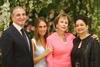 Robert Geneid, Alexia Genta, H.E. Evelyn Genta and Habibah Muhd Yusoff