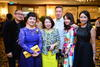 Eddy Quek, Pauline Kwan, Mrs Eddy Quek, Jeffrey and Emily Piak with Kelly Keak