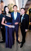 Nora and Darryl Lim with Denise Lim