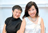 Koh Chi Wen and Julie Ho