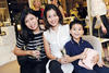 Laura Lim, Vashty Soegomo and Jayden McNee