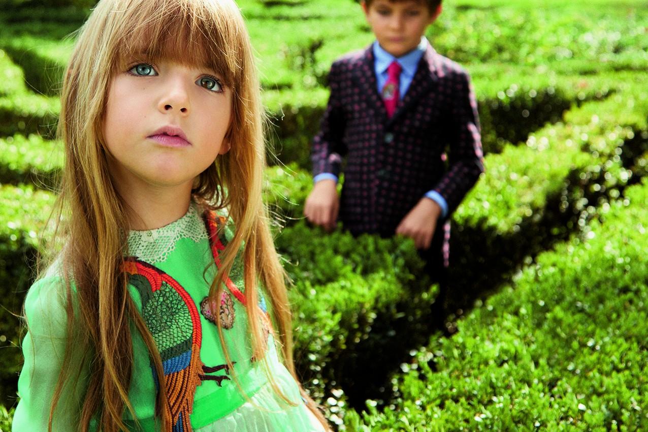 Fashion Casts The Spotlight On Kids