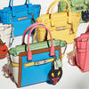 Rainbow Colorblock Coach Swagger 21