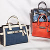 Denim Colorblock Coach Soft Swagger