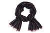 For the jet-setter Dad: Bottega Veneta scarf in wool silk