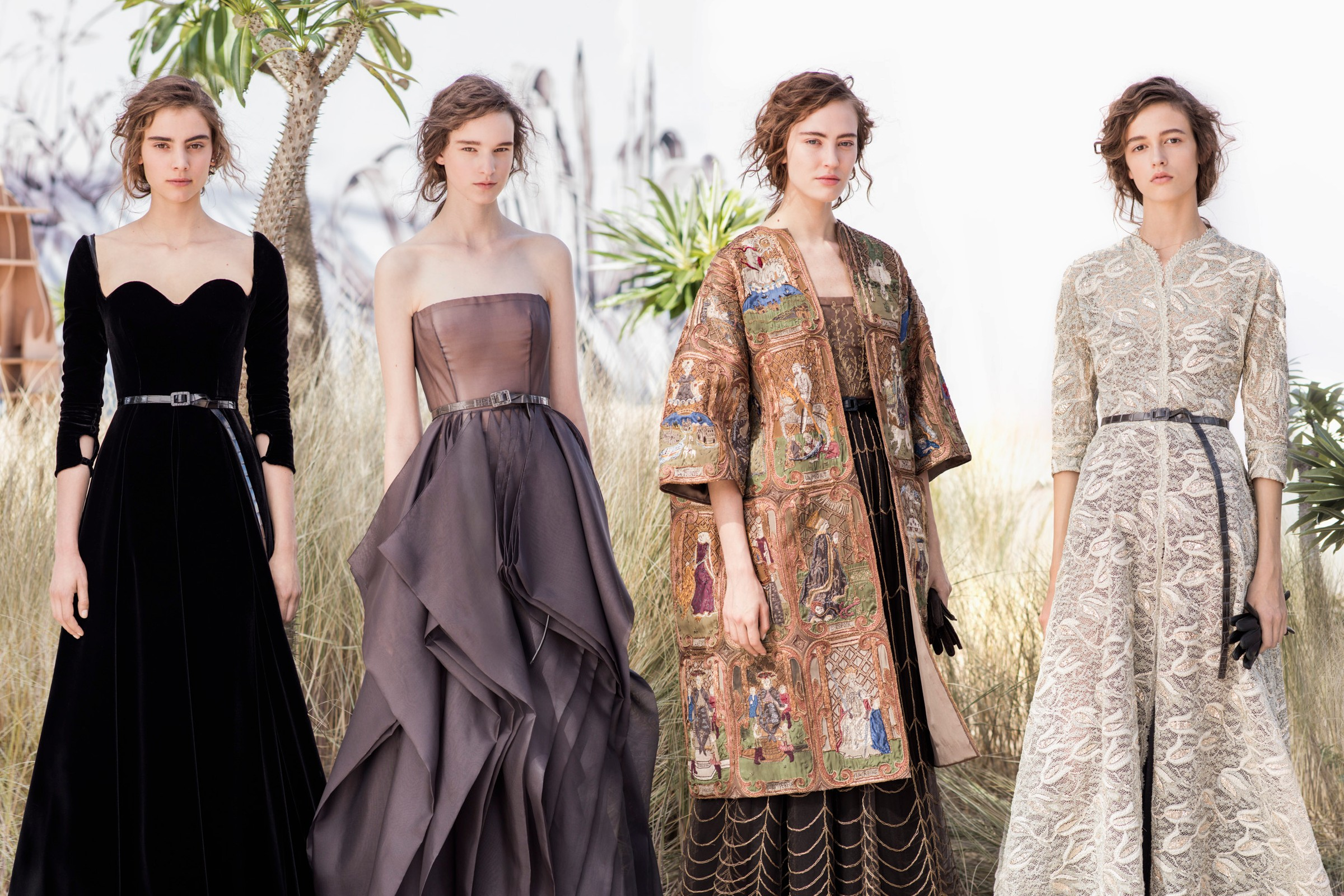 Zoom In On Dior's AW17 Haute Couture Collection