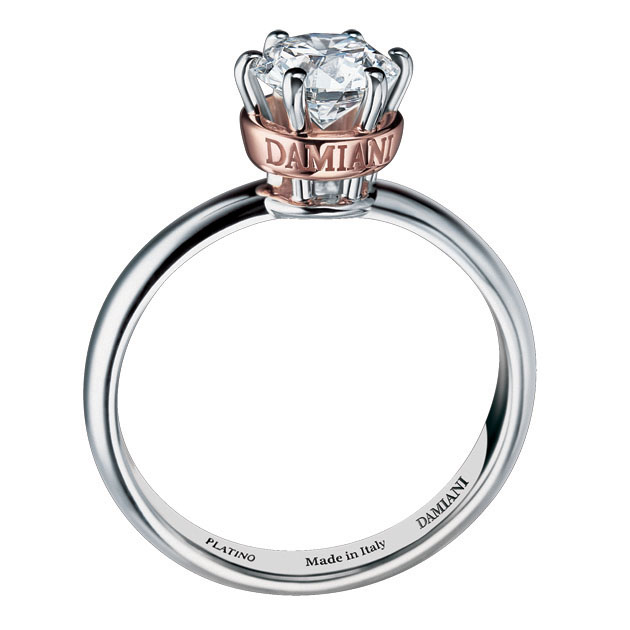 Damiani Queen Solitaire Ring Damiani When Two Become One