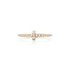 Tiffany T ring in 18k yellow gold