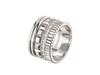 Quatre Radiant Edition ring in white gold