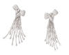 Damiani Masterpiece Fiocco Earrings in white gold and diamonds