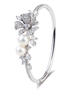 Damiani Masterpiece Fiori D'Arancio Bracelet in white gold with diamonds and pearls