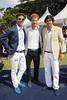 Malcolm Borwick, Prince Harry and Nacho Figueras at the 2017 Sentebale Royal Salute Polo Cup at the Singapore Polo Club