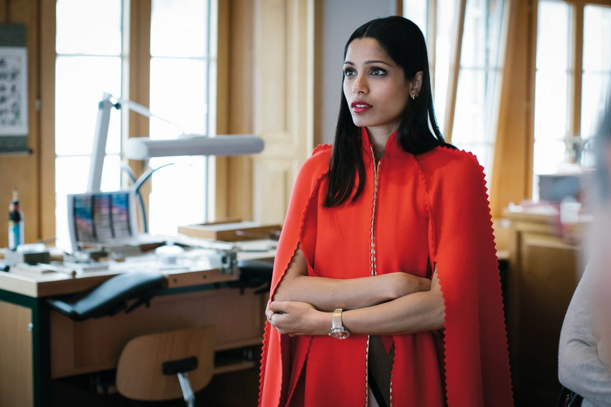 Getting to know Freida Pinto