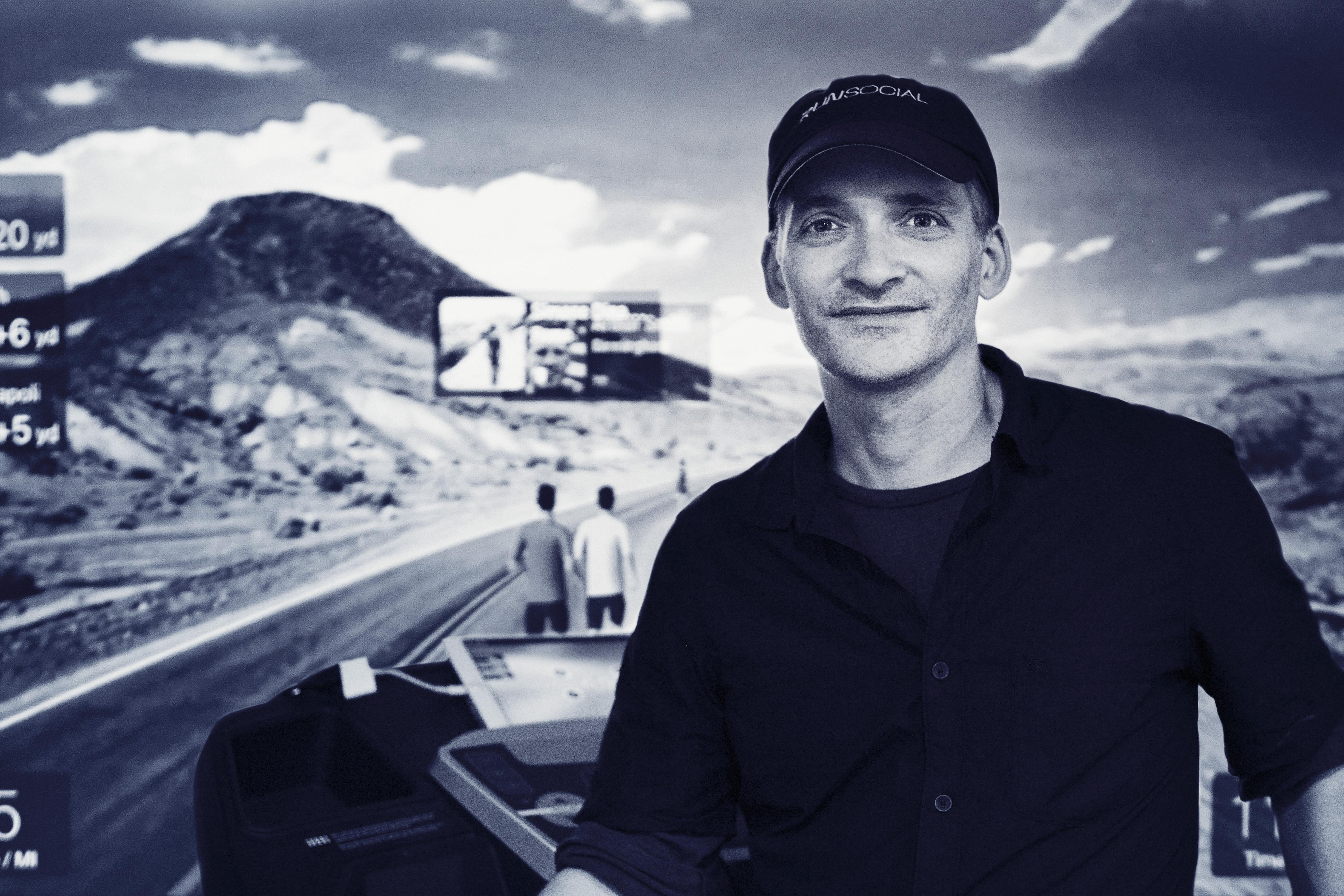 Entrepreneurs: Marc Hardy of RunSocial (2of4)