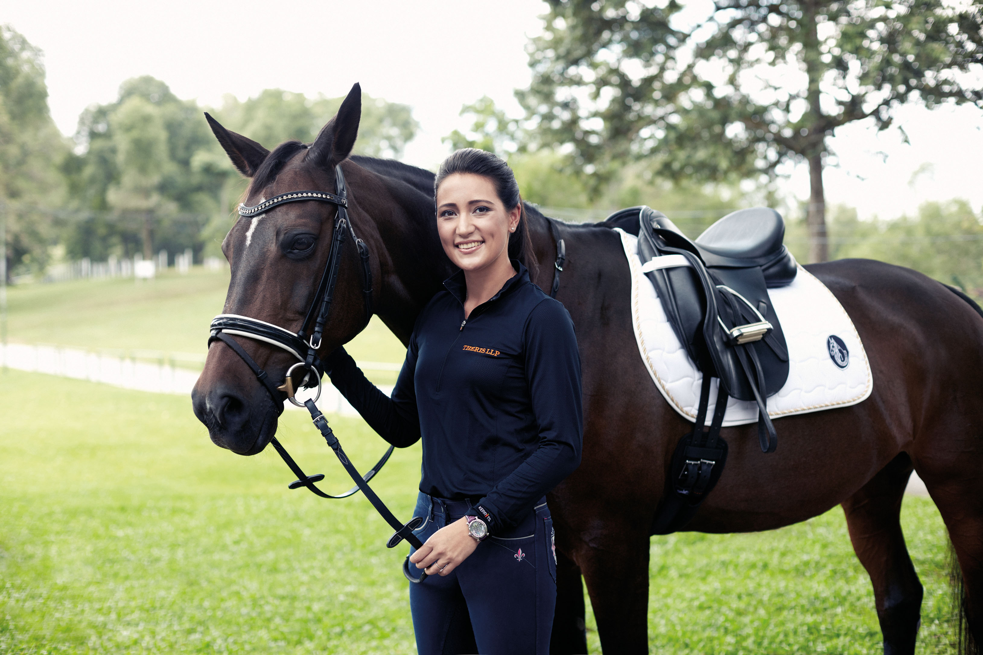 Jessamine Thrcke: Horse therapy for kids