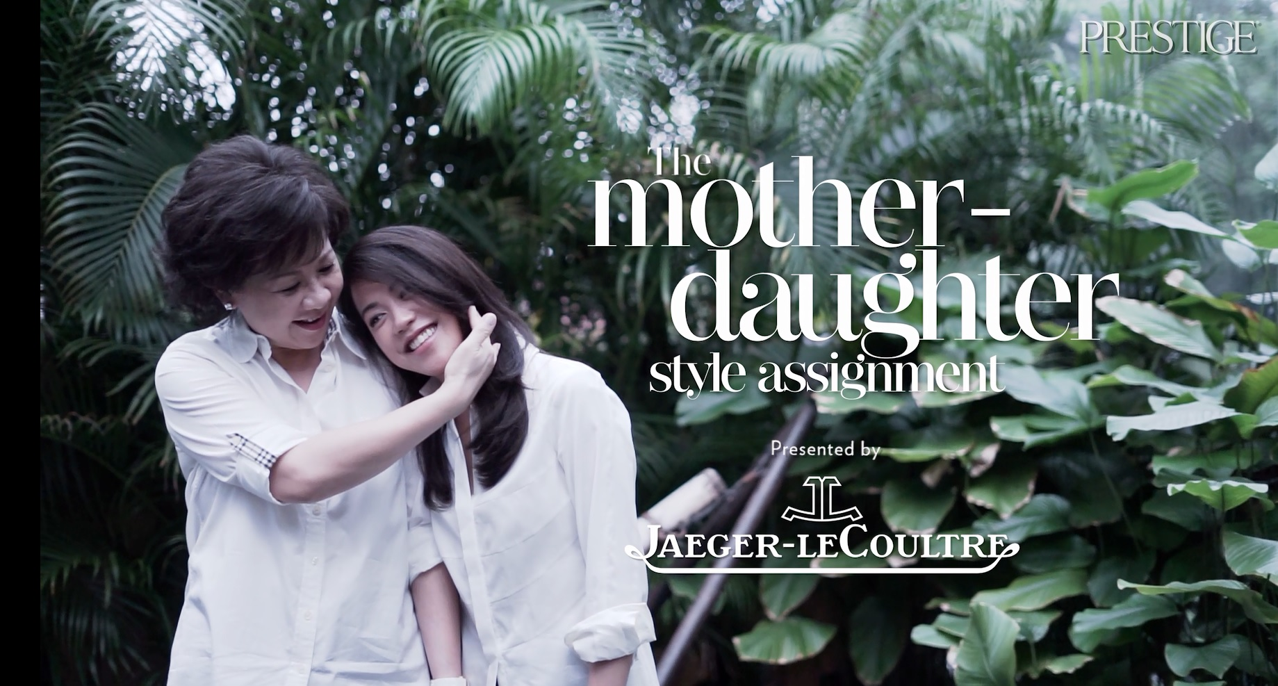 The Jaeger-LeCoultre Mother-Daughter Style Assignment – Ow Pui Yee & Carmen Ow