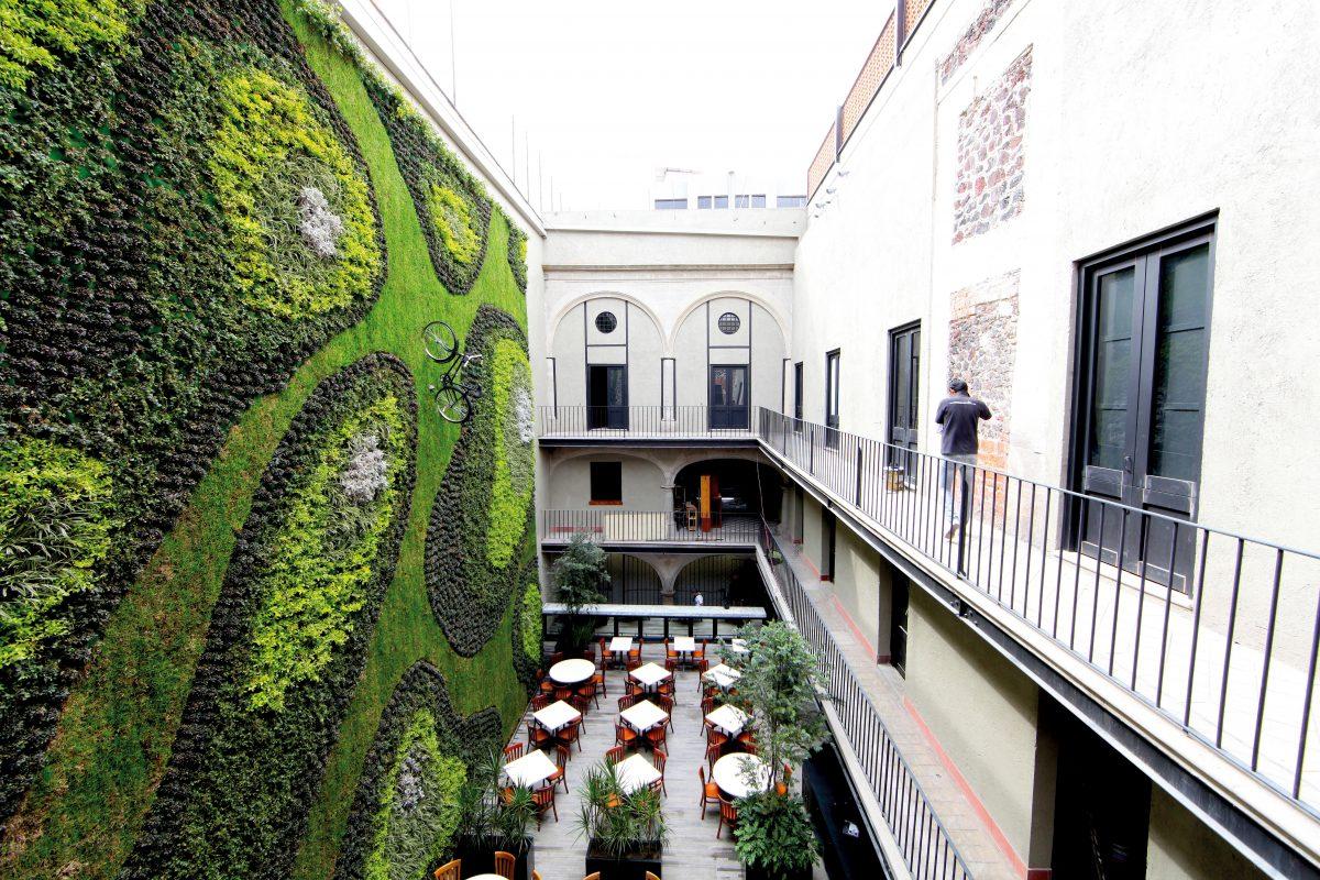 5 Coolest Vertical Gardens Around the World