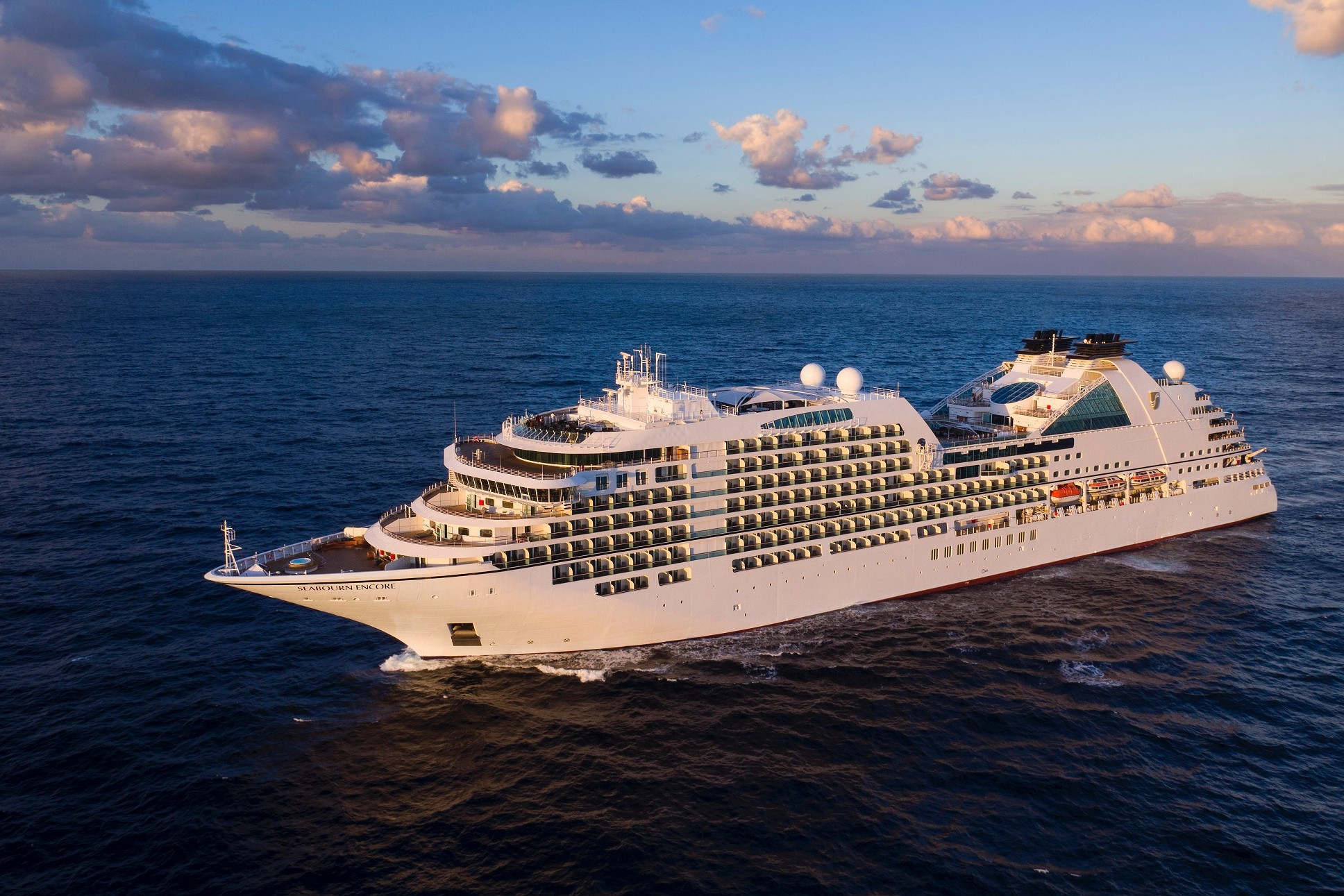All aboard the Seabourn Encore!