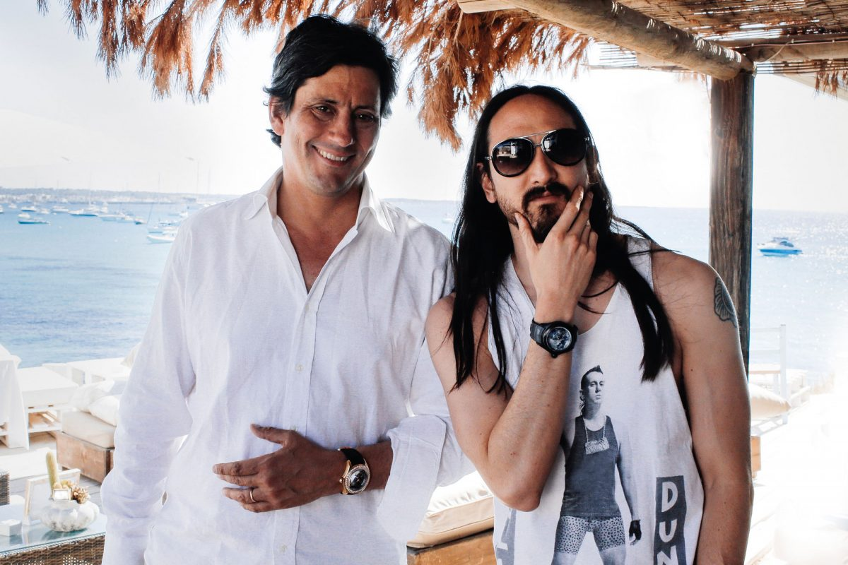 Corum Teams Up with Steve Aoki