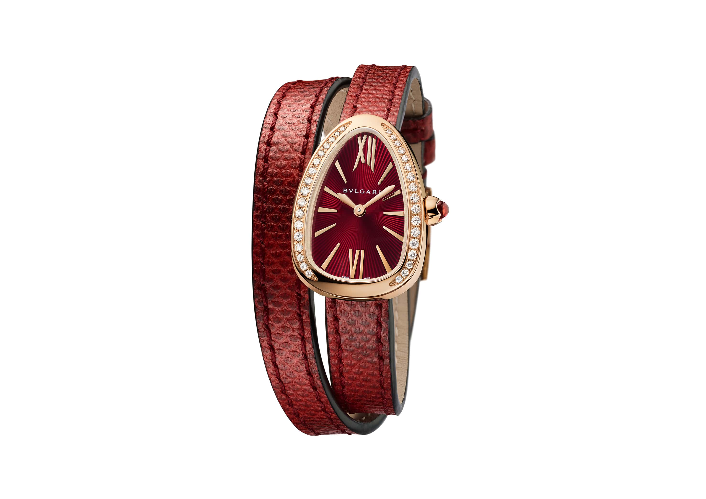 Bulgari's Serpenti watch can now be customised