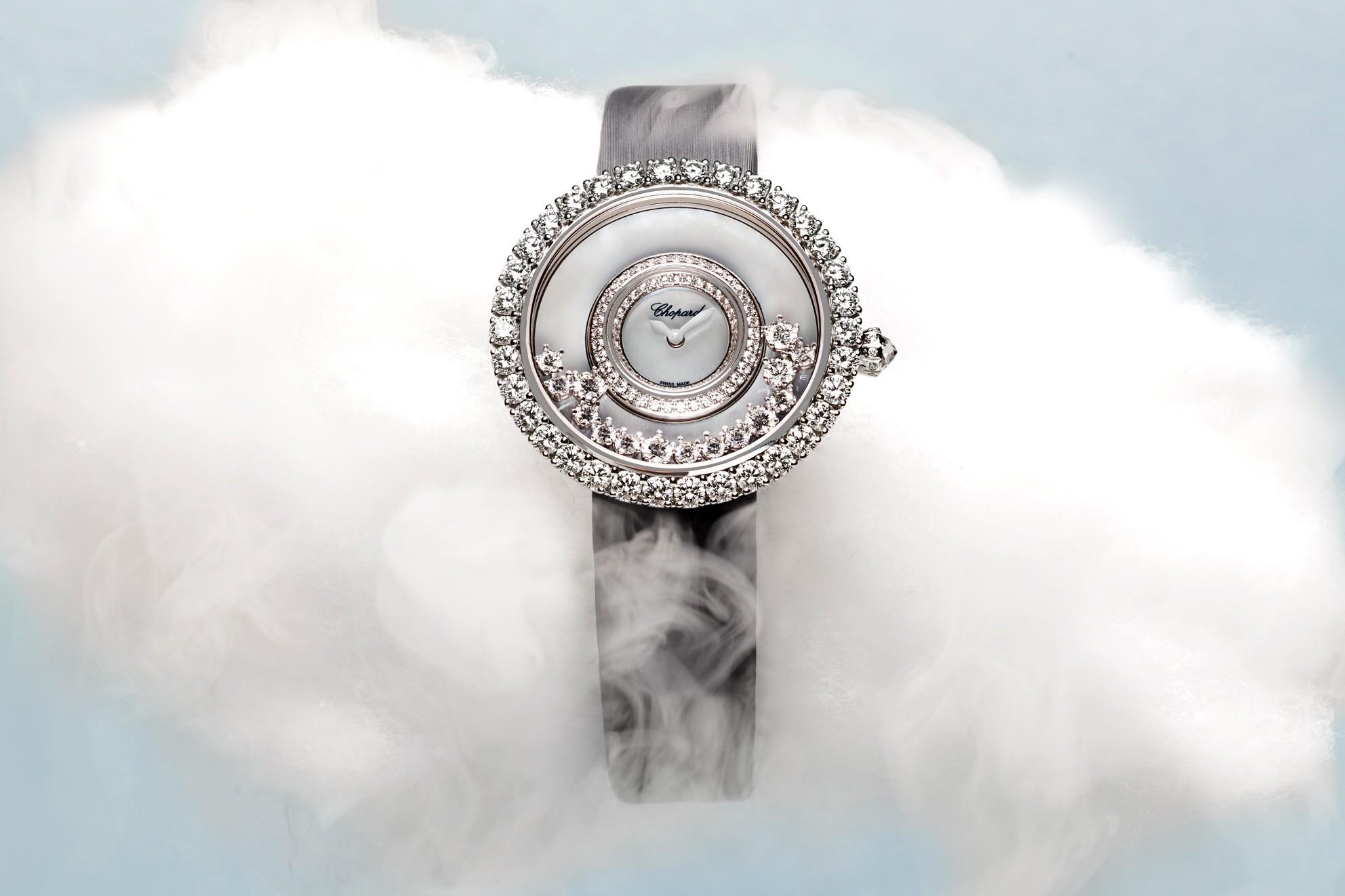 Chopard celebrates 40 years of Happy Diamonds