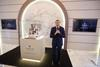 Vincent Gere speaks at L'Odyssee d'un Roi exhibition in Singapore
