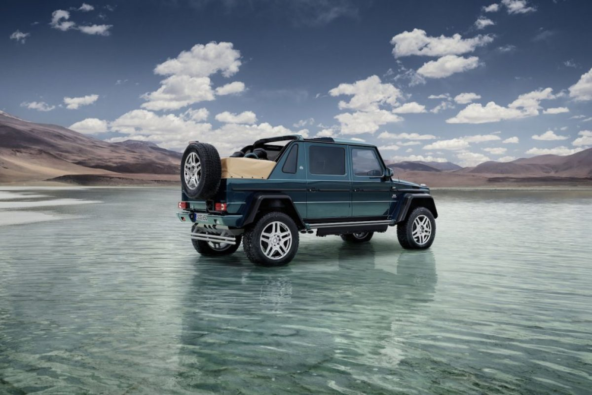 Mercedes-Maybach Goes Off-Road with an Exclusive New Model