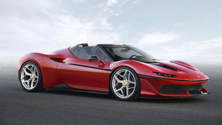 The Ferrari J50 is One of the Newest, Coolest and Rarest Cars in the