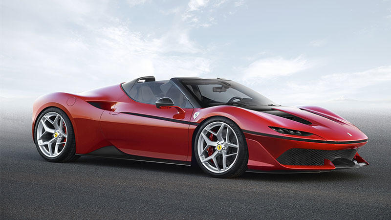 The Ferrari J50 Is One Of The Newest Coolest And Rarest Cars In The World Prestige Online Thailand