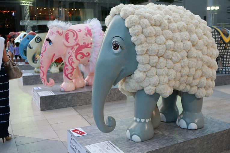 The Elephant Parade and Siam Paragon recently launched the world's largest open-air art exhibition