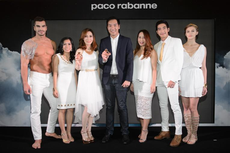 Paco Rabanne launches a new fragrance, Olympea.