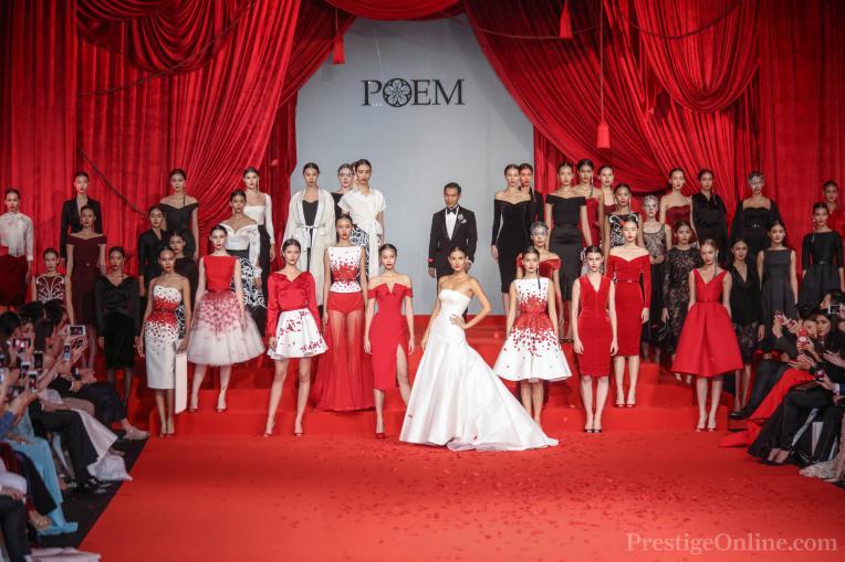 Poem 'Decade of Glamour' Fashion Show; Photo courtesy Giancarlo Galavotti; PrestigeOnline