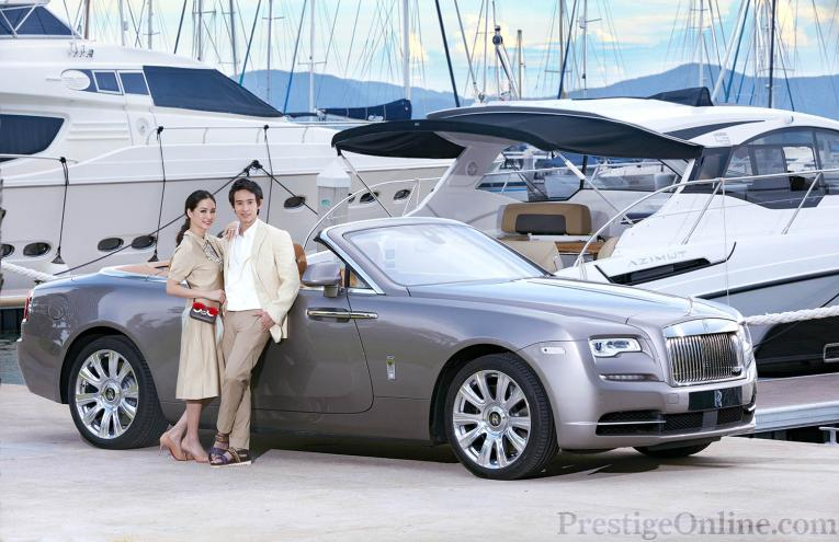 Tim and Tye Limjaorenrat; Photography by Apichart Chaichulla; Special thanks to Azimut Yachts for the use of the Azimut Atlantis 43 & Rolls-Royce Motor Cars Bangkok for their Rolls-Royce Dawn