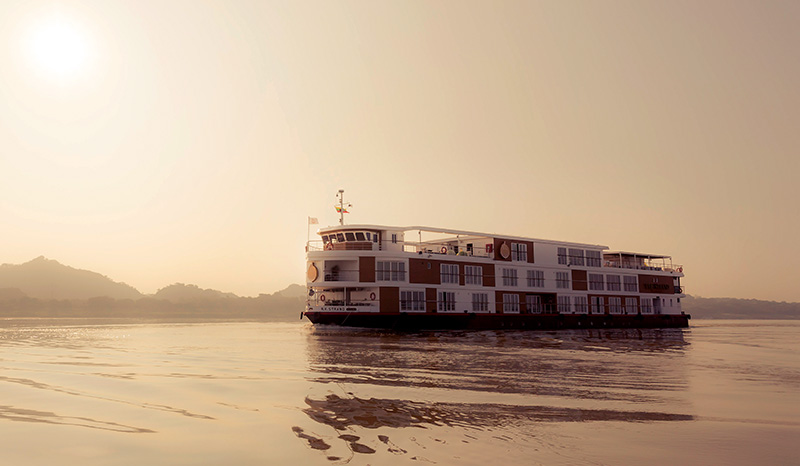 Aboard the Strand: Exploring Ancient Myanmar