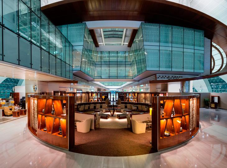 Emirates' Revamped Luxury Lounge