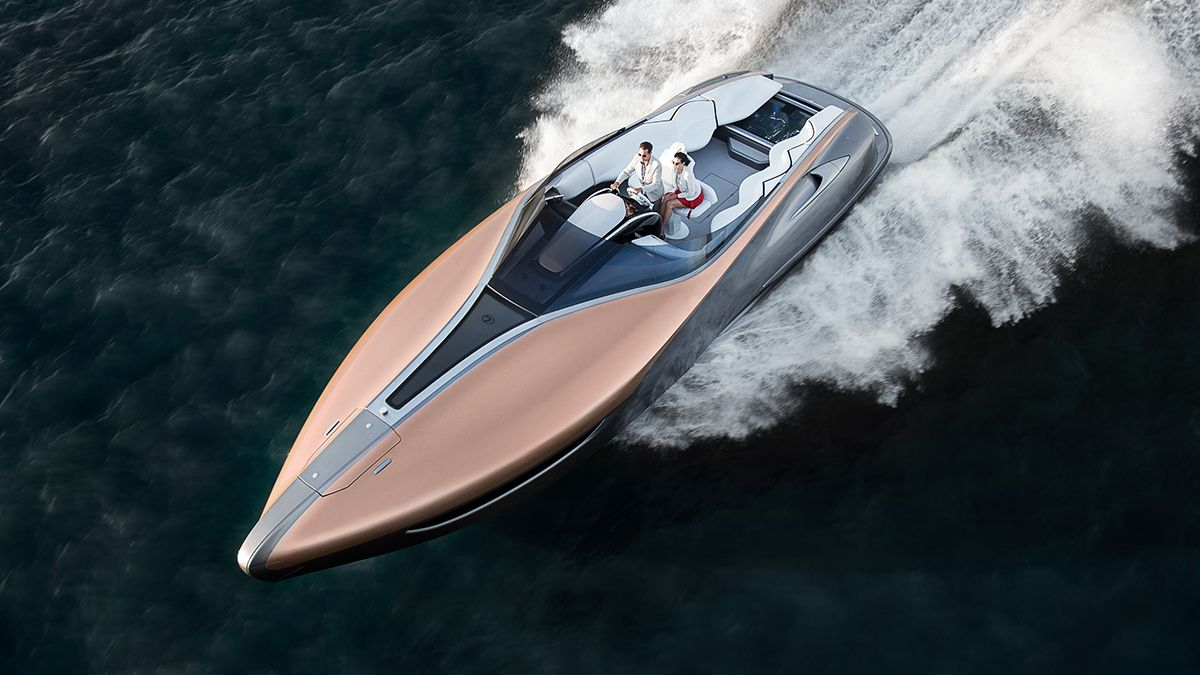 Lexus Just Made a Yacht, and it's Stunning