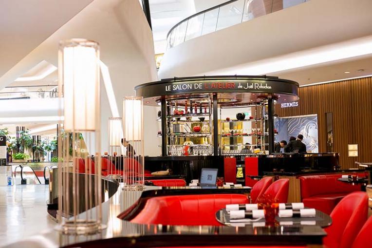 Wine dine news the latest opening from jo l robuchon - Salon de joel robuchon ...