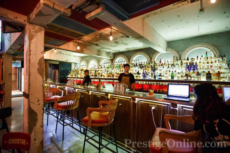 Revolucion Sathorn; Bar view; Photo courtesy Kaan Suchanin; PrestigeOnline