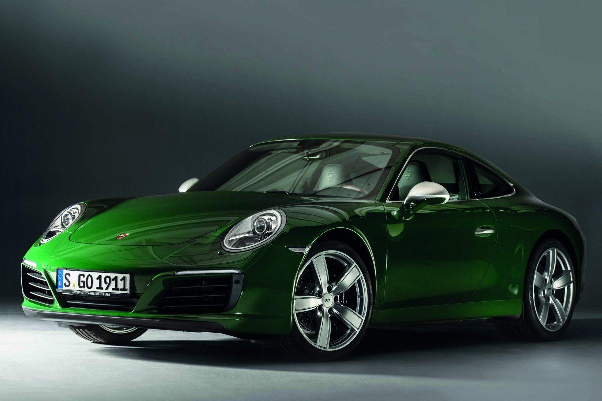 Porsche 911 Carrera S 愛爾蘭綠全球巡展