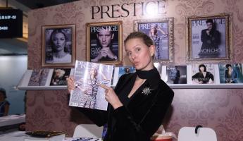 《Prestige》臺灣四月號封面人物──KAROLINA KURKOVA