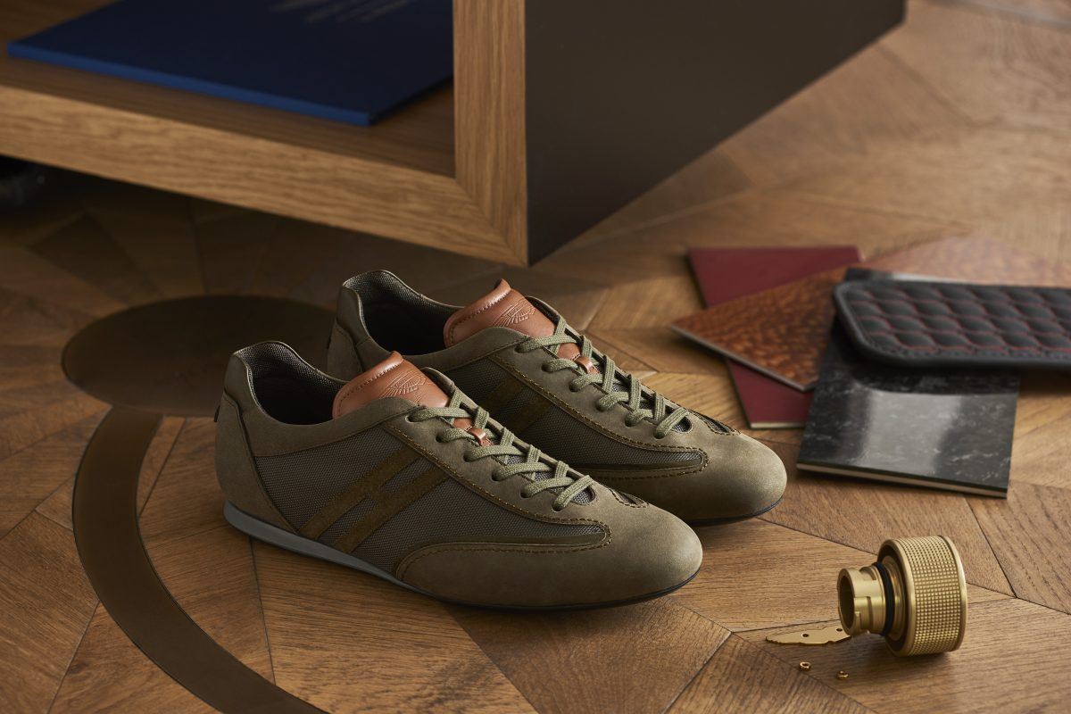 奔跑在雲端:HOGAN X ASTON MARTIN聯名鞋款