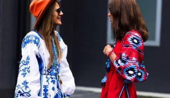 ANNA DELLO RUSSO與VIVIANA VOLPICELLA身著VITA KIN服裝